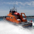 The Relief Lifeboat Daniel L Gibson arriving in Guernsey from Poole 07-06-14 Pic by Tony Rive (23).jpg