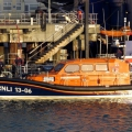The Shannon class Lifeboat Edmund Hawthorn Micklewood about to refuel in St Peter Port 01-11-14 Pic by Tony Rive.jpg