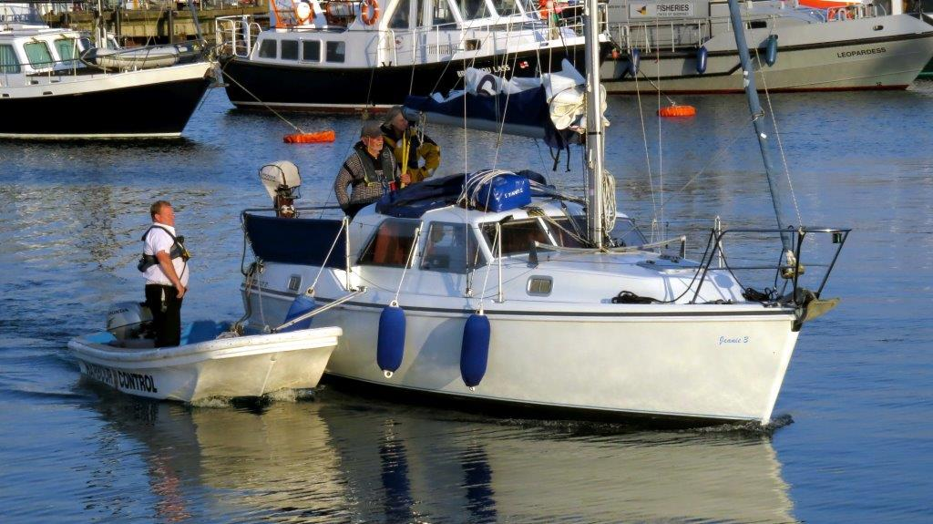 A Mairina Attendant towing yacht Jeanie 3 to the Victoria Marina after being towed to St Peter Port by Lifeboat 29-06-14 Pic by Tony Rive (2).jpg