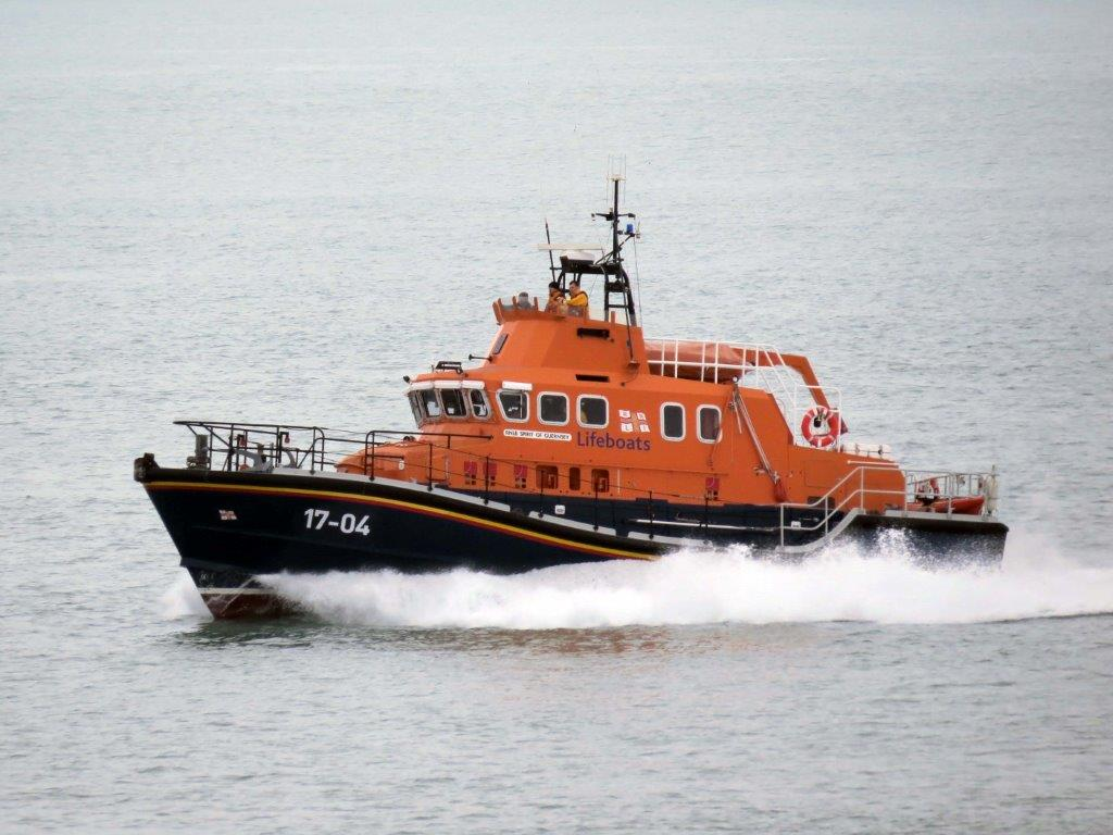 Spirit of Guernsey heading  back to St Peter Port after a search was stood down 17-03-14 Pic by Tony Rive (2).jpg