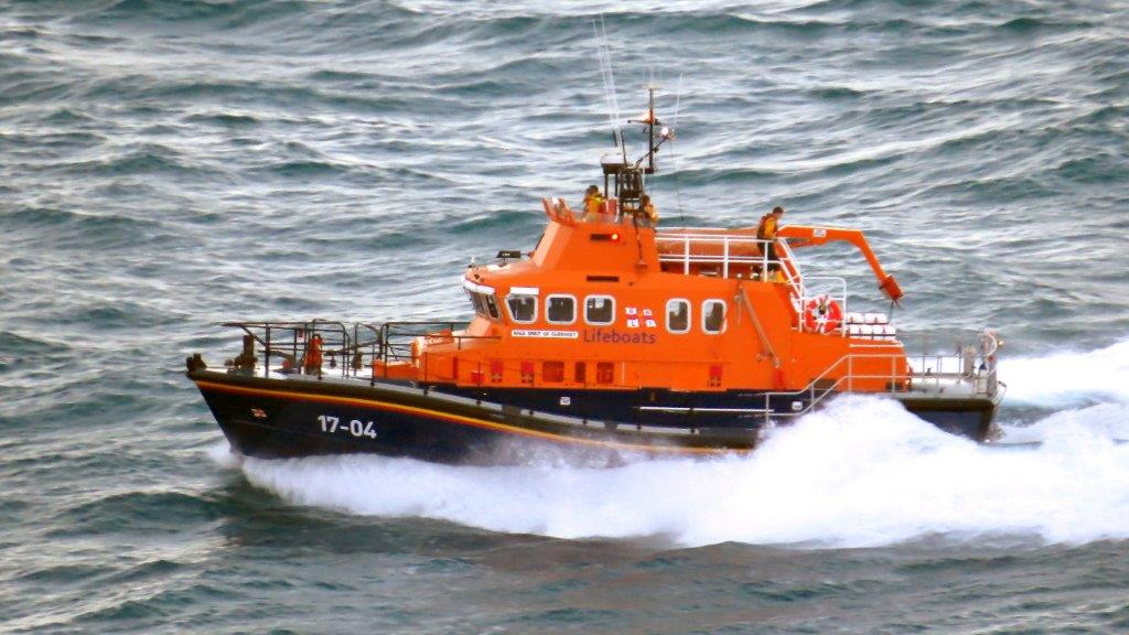 Spirit of Guernsey heads back to St Peter Port with one Male Casualty 14-11-14 Pic by Tony Rive (9).jpg