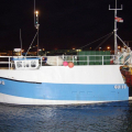 Amy Blue heading for the Fish Quay 30-01-13 Pic by Tony Rive