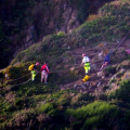 Cliff Rescue of two men from Cliff''s on Guernsey's south coast 10-08-14 Pic by Tony Rive (23).jpg