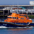 Daniel L Gibson returning to St Peter Port towing local Fishing boat Taoro 19-06-14 Pic by Tony Rive (2).jpg