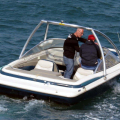 Jersey Ski Boat which caused two Rescues in 4 Day's Shout (3) 15-09-14 Pic by Tony Rive.jpg