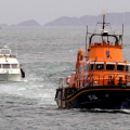 Lifeboat Spirit of Guernsey towing Fair Douze to St Peter Port 10-07-16 Pic by Tony Rive (4)