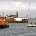 Spirit of Guernsey tows Balmee Pic by Tony Rive