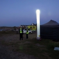 Guernsey Civil Protection volunteers at Grand Rocques headland - photo by Tony Rive