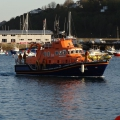 St Peter Port lifeboat returning from a search of the west coast