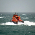 Lifeboat Spirit of Guernsey leaving St Peter Port on a shout to the West coast 22-12-15 Pic by Tony Rive (7)