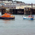 Spirit of Guernsey in St Peter Port 28-10-12 Pic by Tony Rive