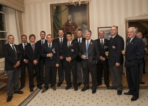 Picture: Brian Green - November 10, 2015 - RNLI Presentations at Government House